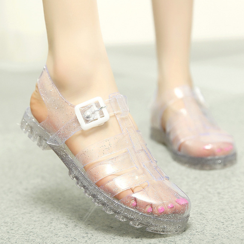 Women Jelly Shoes Lady's Garden Shoes