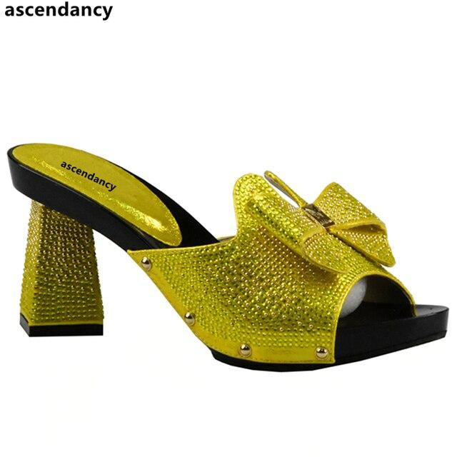 Chaussures Jaunes Taille 37 Avec Des Femmes Peep-toe De AzpPfYs