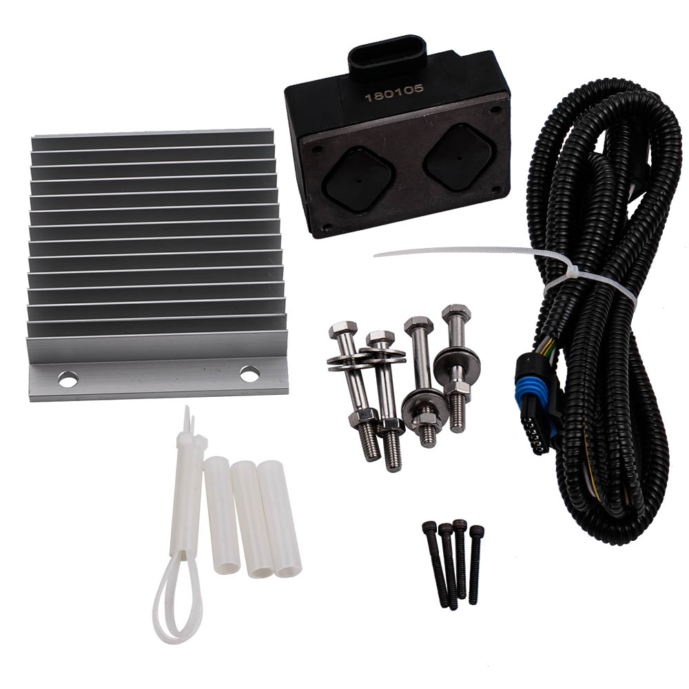 NEW Fuel Pump Driver Module PMD and Relocation Kit Set for Chevy GMC 6.5L Diesel