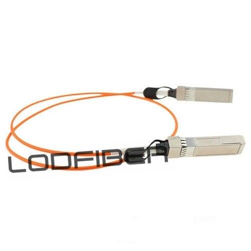33ft to 4x10G SFP Breakout Active Optical Cable CBL-QSFP-4X10G-AOC10M Dell Compatible 40G QSFP LODFIBER 10m