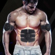 Abdominal Wireless Machine Electric Muscle Stimulator Stimulation ABS EMS Trainer Fitness Weight Loss Body Slimming Massage