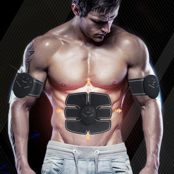Abdominal Wireless Machine Electric Muscle Stimulator Stimulation ABS EMS Trainer Fitness Weight Loss Body Slimming Massage Message & Relaxation