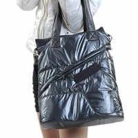 2018 Winter Women's Space New Cotton Casual Bags Ladies Handbag Shoulder Pads Female Fashion Shoulder Bag tote Bolsas Sac A main