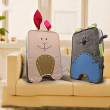 Creative cartoon animal plush chair cushion cushion seat Office cushion Stuffed & Plush animal Bright colors and soft child toy