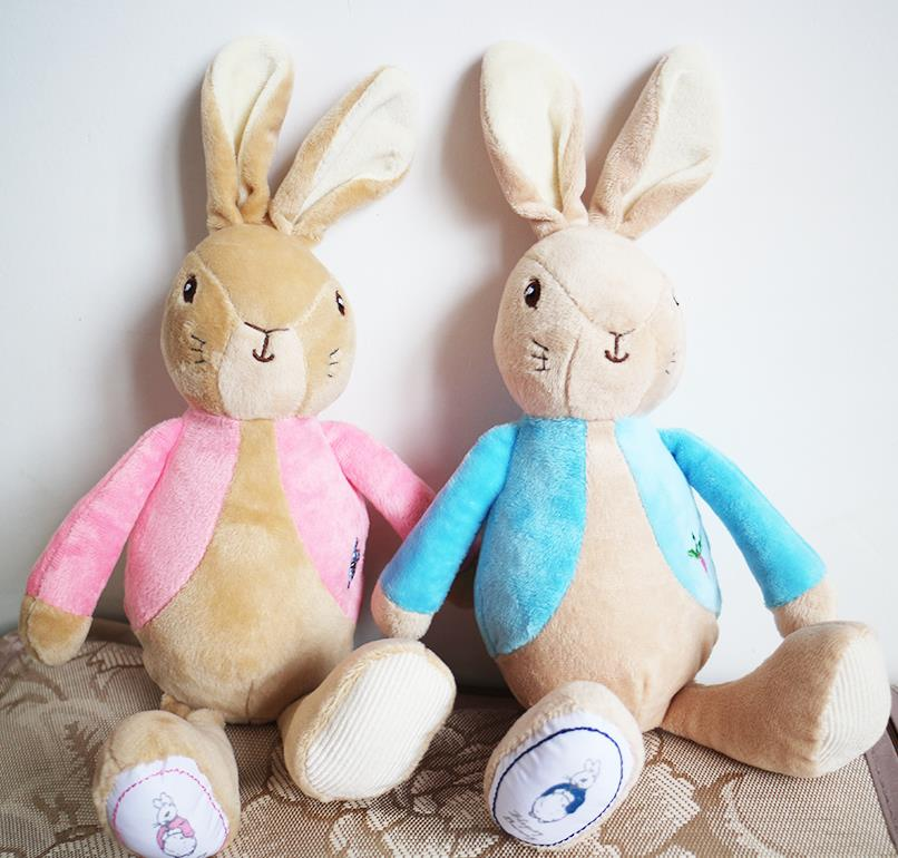 10pcs lot 27cm Peter Rabbit Lily Beatrix Potter Girl Figures Toys Stuffed Plush Toy Doll Kid