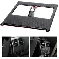 Areyourshop Car Carbon Fiber Air Condition Vent Cover Stickers For Mercedes W204 C Class Air Condition Vent Cover Stickers Car