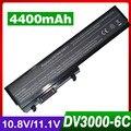 4400 mah bateria do portátil para hp pavilion dv3000 dv3100 dv3500 dv3600 series