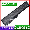 4400mAh laptop battery for HP Pavilion dv3000 dv3100 dv3500 dv3600 Series