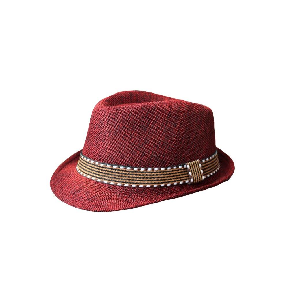 b187d5d4 2019 New Fashion Kids Boy Girl Unisex Fedora Hat Contrast Trim Cool Jazz  Hat Trilby Cap Chapeau-in Men's Fedoras from Apparel Accessories on  Aliexpress.com ...