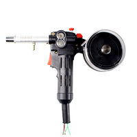 Stainless Steel Tool DIY DC 24V Spool Durable Welders Maintenance 200A Push Pull Feeder Welding Torch Line Drawing Accessories