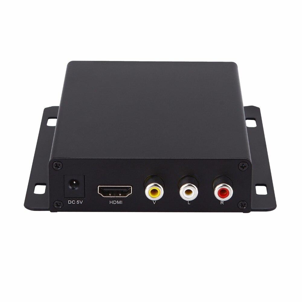 Lecteur multimédia Full HD 1080 P, lecteur de signalisation numérique, boîtier de lecteur publicitaire, HDMI, sortie AV, lecteur de carte SD/MMC/hôte USB livraison gratuite! - 2
