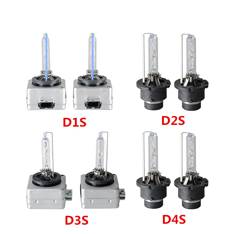 HID Bulb D1S D1R D2S D2R D3S D3R D4S D4R Xenon HID Lamp Car Lights 35W 4300K 5000K 6000K ...
