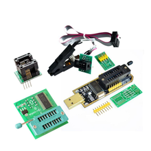 CH341A 24 25 Series EEPROM Flash BIOS USB Programmer Module+ SOIC8 SOP8 Test Clip For EEPROM 93CXX / 25CXX / 24CXX