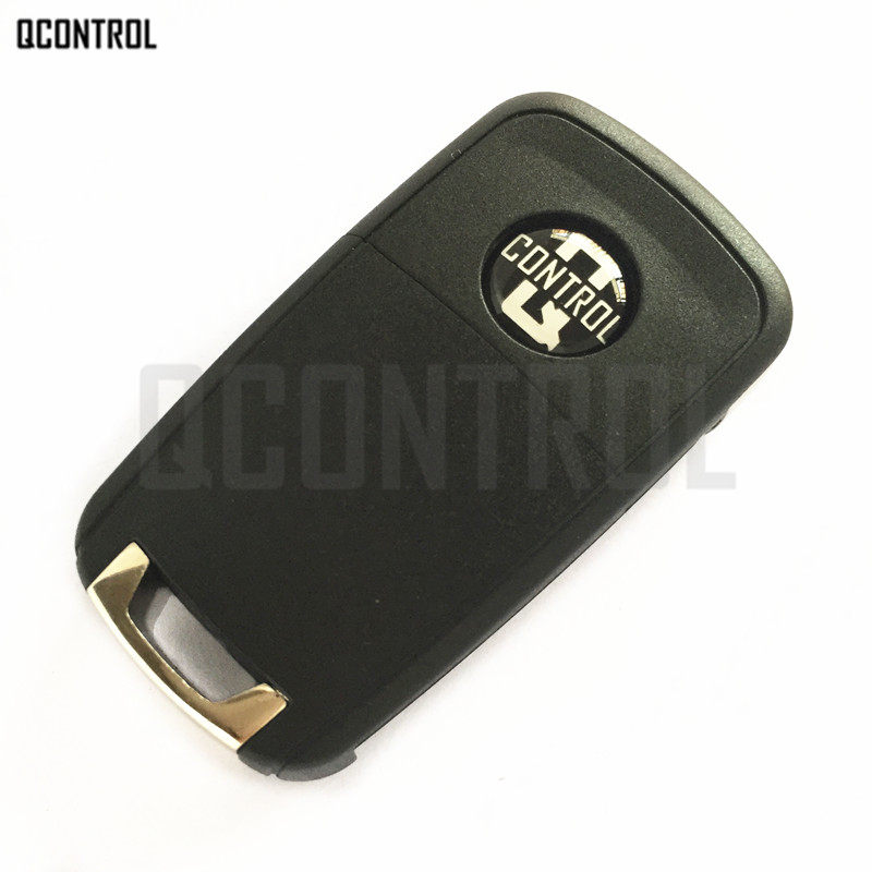 QCONTROL 3 Buttons Car Remote Key DIY for OPEL/VAUXHALL Astra J, Corsa E, Insignia, Zafira C 2009-2016