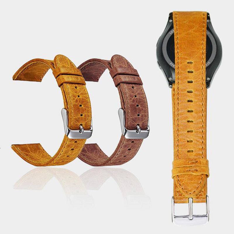 FOHUAS hull hobusenahast käepael Samsungi käigukasti s3 randmele - Kellade tarvikud - Foto 4