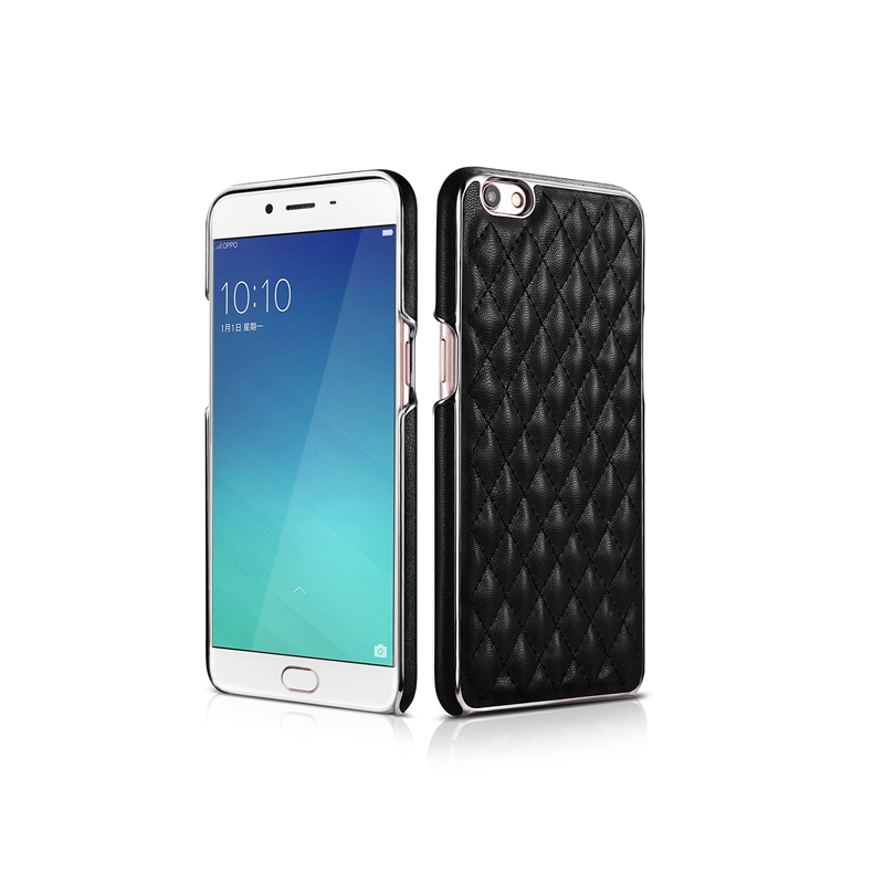 XOOMZ for oppo R9 diamond single bottom shell R9 mobile phone Plus mobile phone protective sleeve Xiangling small lattice