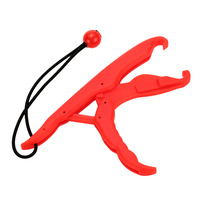 PP Hard Plastic LipGrip Fish Controller Red Yellow Supplier 23 5cm Hand Control Fishing Lip Grip