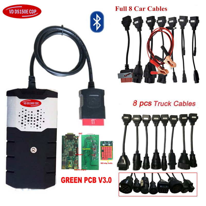 2019 Newest 2016.R0 with keygen for delphis vd ds150e cdp bluetooth V3.0 car truck vd tcs cdp obd obd2 Scanner+car truck cables.2019 Newest 2016.R0 with keygen for delphis vd ds150e cdp bluetooth V3.0 car truck vd tcs cdp obd obd2 Scanner+car truck cables.