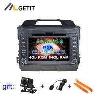 Android 9 Car DVD Video Stereo Radio Player GPS Navigation for Kia SPORTAGE 2010 2012
