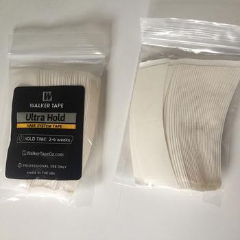 36 sztuk partia Ultra Hold System włosów kleje taśmy Super paski kleje do taśmy rozszerzenie peruka koronkowa peruka zamknięcie tanie i dobre opinie 7 6cm*2 2cm 36pcs Top Quality adhesives 4~6 weeks Tape Extension Toupee Lace wig pvc opp bag white
