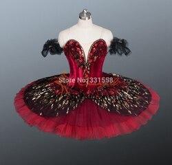 2015 new arrival adult black classical red swan lake ballet tutu black professional performance ballet tutus.jpg 250x250