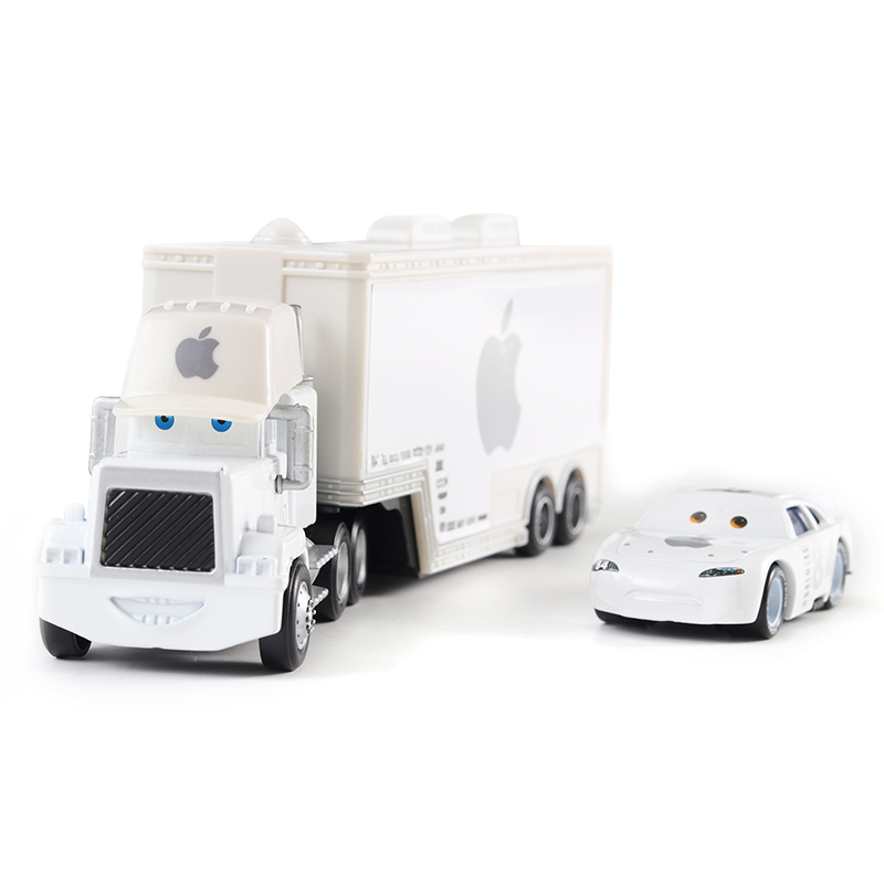 Cars Disney Pixar Cars Mack Uncle & No.84 Icar Diecast Toy Car Loose 1:55 Brand New In Stock Disney Cars 3 Free Shipping