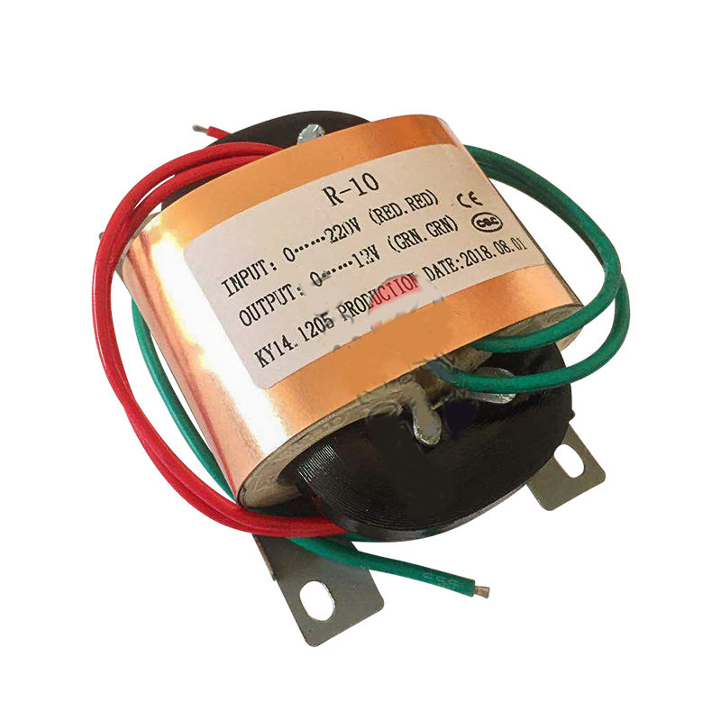 R10 10W12W15W R Core Power Transformer R Type <font><b>220V</b></font> <font><b>to</b></font> Single Double 9V 12V <font><b>15V</b></font> 18V 24V image