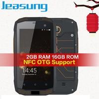 Jeasung A2 IP68 Rugged phone waterproof 2GB RAM 16GB ROM NFC OTG Android 5.1 Quad Core 8.0MP 1280*720 2600mAh 4G FDD LTE Cell