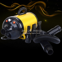2200W Pet Water Blower Dog Pet 2 Gears Hair Dryer High Power Teddy Golden Hair Cat Bath Drying Hair Blowing Device