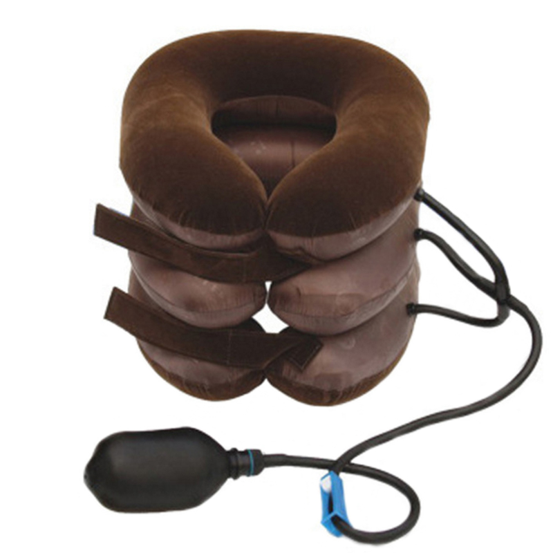 new arrival inflatable air neck shoulder neck pain relief comfort cervical traction neck massage pillow brace device New Arrival Inflatable Air Neck Shoulder Neck Pain Relief Comfort Cervical Traction Neck Massage Pillow Brace Device