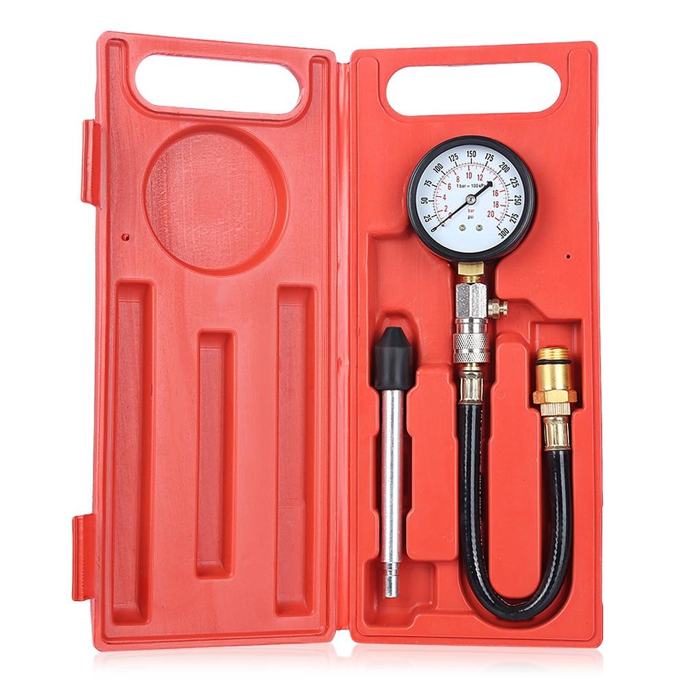 G324 Auto Cylinder Compression Tester Pressure Gauge