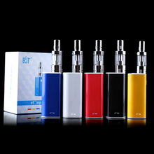 5pcs/lot New Mechanical Box Mod et30p kit 30W E cig vaporizer mini fog kit airflow control 2200mah et 30P electronic cigarette