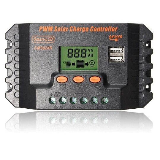 12/24V 30A USB Solar panels charge controller12/24V 30A USB Solar panels charge controller