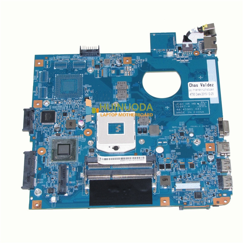 NOKOTION JE40 HR MB 10267-4 48.4IQ01.041 For acer aspire 4752 4755 laptop motherboard HM65 DDR3 MBRPT01001 MB.RPT01.001 laptop motherboard for acer aspire 4743 4743g hm55 geforce gt540m mb rfh01 002 mbrfh01002 je43 cp mb 48 4ni01 02m mainboard