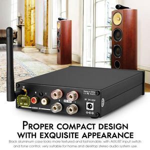 Image 4 - Nobsound HiFi stéréo Bluetooth classe D amplificateur de puissance maison stéréo Audio Amp APTX LL 160W + 160W