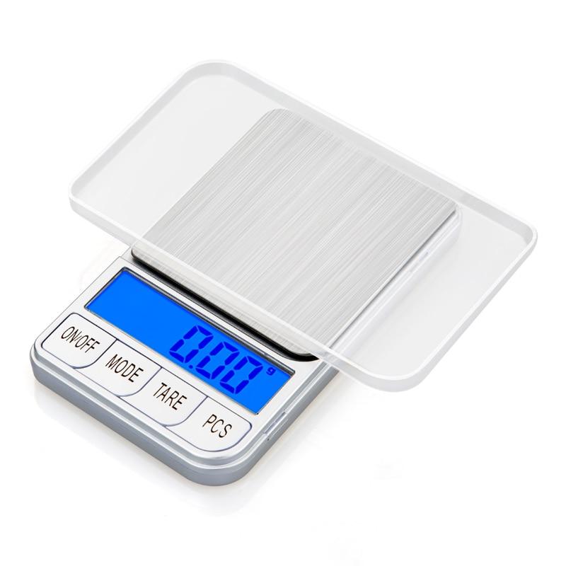 Elektronisch Küchenwaage LCD Display 3kg//0,1g Grammwaage Haushaltswaage Tragbar