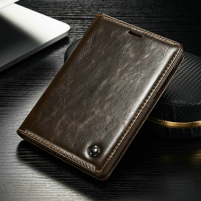 new products 7337c 6a65d US $8.86 |Vintage Leather Magnet Phone Case For Blackberry Passport 2 Case  Passport Stand Card Holder Flip Cover Back Capa Coque Fundas -in Wallet ...
