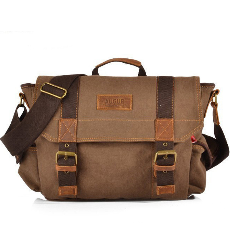 Classic Retro Canvas Men Satchel Messenger Bag Crossbody Shoulder Bags Laptop Notebook Camera Travel Bag 2018 waterproof men messenger camera bag brand camera video bags photo bag men digital dslr camera laptop shoulder bags li 1394
