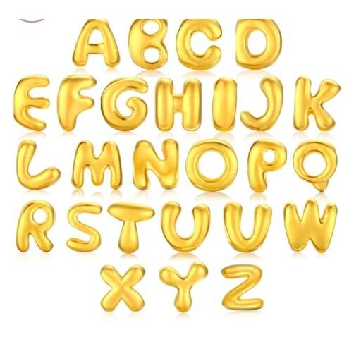 все цены на 1PCS Pure 999 24k Yellow Gold Pendant / Craved Bless Lucky Letter Pendant