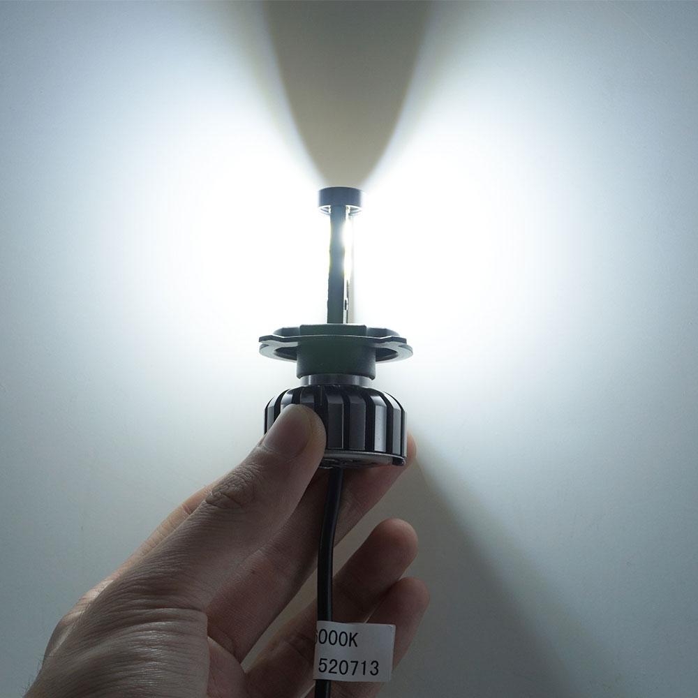COB LED Hightlight Λαμπτήρες Kit H1 H3 H7 H8 / H9 / H11 - Φώτα αυτοκινήτων - Φωτογραφία 5