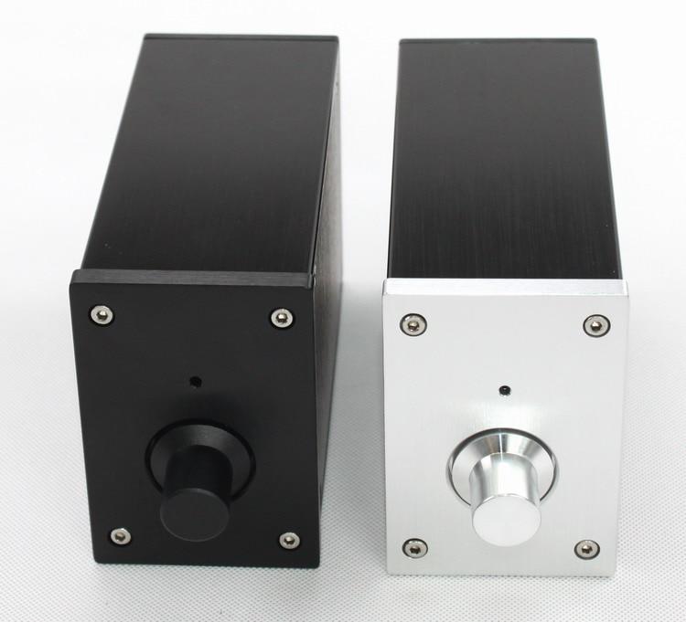 WA58 Full Aluminum Enclosure / Mini Amplifier Chassis/ Preamp Box/ PSU Case ll4312 pass full aluminum enclosure power amplifier box psu chassis preamp case