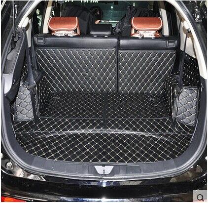 Высокое качество! специальные коврики для багажника для Mitsubishi Outlander 7 мест 2014 прочные водонепроницаемые ковры для Outlander 2013, бесплатная доста