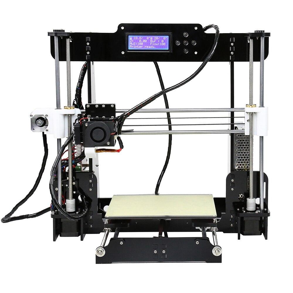 Anet A8 A6 niveau automatique A8 A6 imprimante 3d haute précision extrudeuse Reprap Prusa i3 3D imprimante Kit bricolage Impresora 3d avec Filament PLA - 4