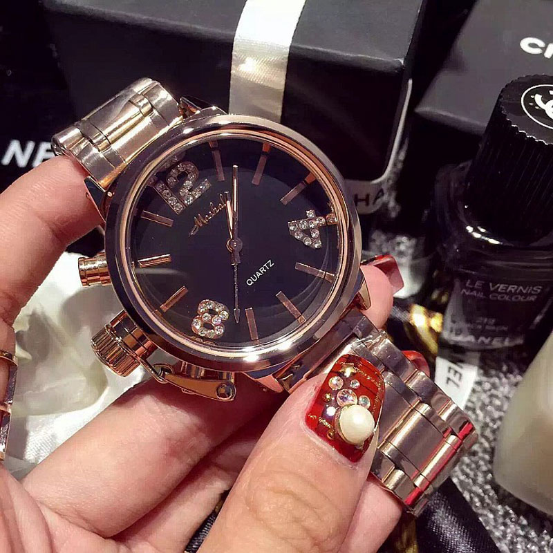 Top Brand Rose Gold Women Watch Steel Luxury Ladies Watch Creative Girl Quartz Wristwatch Clock Montre Relogio Feminino small brand fashion women watches casual luxury ladies watch creative girl quartz wristwatch clock montre relogio feminino