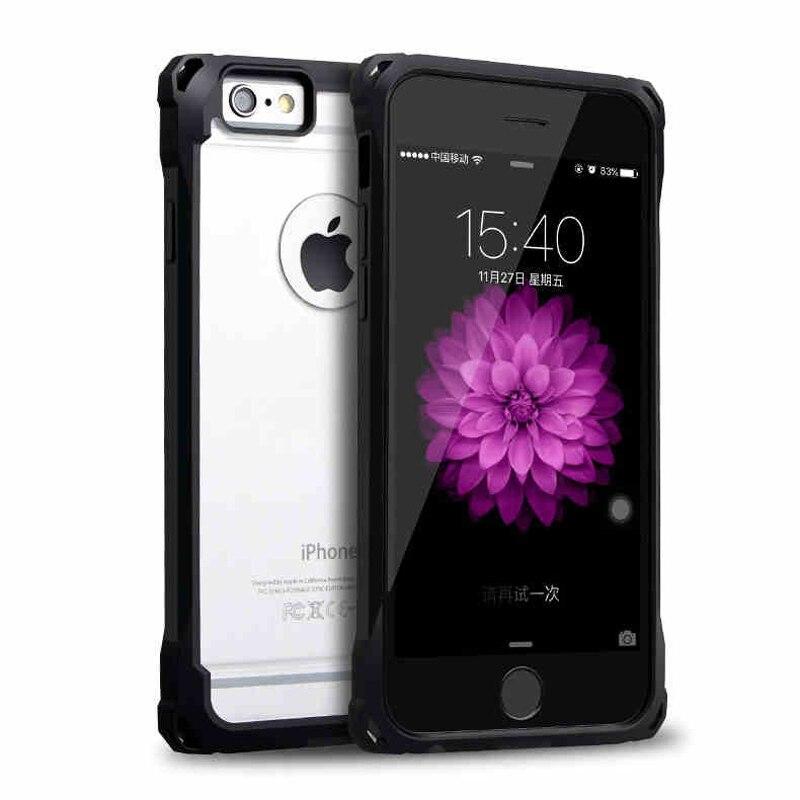 ITEUU Anti-knock Hard Case för iphone 6 6S Fodral Stötsäker Klar - Reservdelar och tillbehör för mobiltelefoner - Foto 1