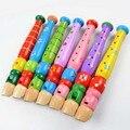 I32 2016 горячий продавать детские образовательные деревянные игрушки, детские развивающие игрушки весело музыкальный цвет небольшой пикколо