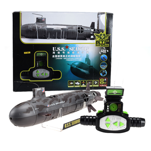 Fun Maker 13000 Seawolf 6-CH Radio Control Simulation Series RC Nuclear Racing Submarine Model Torpedo Pigboat Kids Toy high quality high speed rc boat 13000 6ch mini radio control simulation series rc nuclear racing submarine model kids best gifts