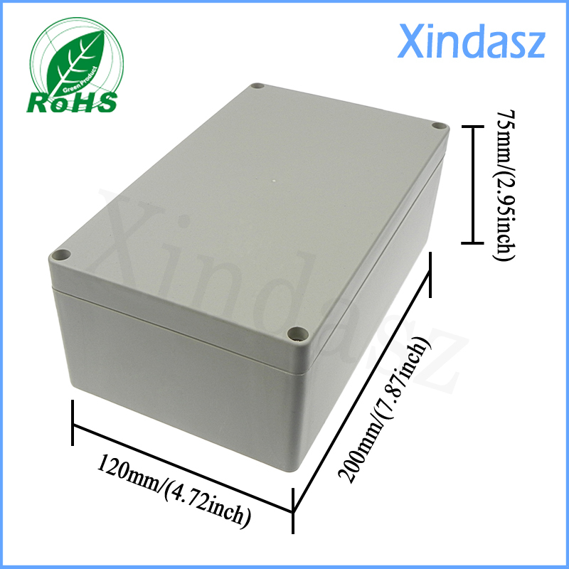200*120*75mm size, Surface Mounted, waterproof sealed plastic ...