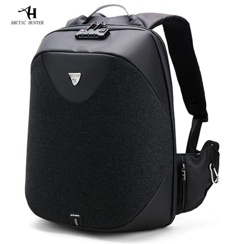 ARCTIC HUNTER School Backpacks 15.6 Laptop backpack Men's Waterproof Mochila Anti Theft Travel Backpack Male Bag Gift M741 men backpack student school bag for teenager boys large capacity trip backpacks laptop backpack for 15 inches mochila masculina