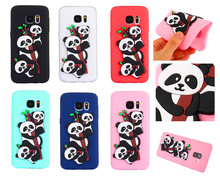 hot deal buy for samsung s 7 s7 edge case 3d relief panda silicon tpu soft back cover phone case for samsung galaxy s7 edge g930 g930f g9350
